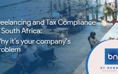 Freelancing and Tax Compliance in South Africa: Why it's your company's problem
